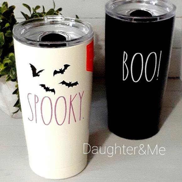 New Rae Dunn 2021 Halloween SPOOKY Insulated tumbl